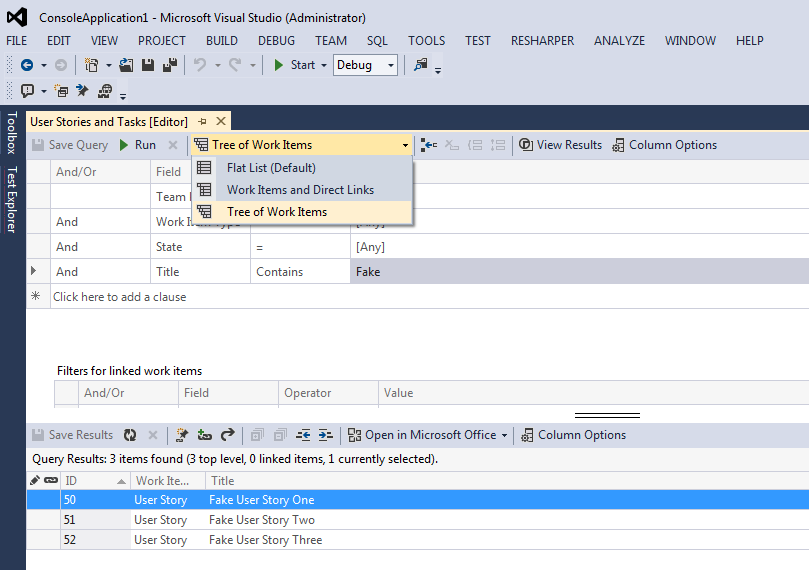 Adding Tasks to a User Story in Bulk with Excel 1