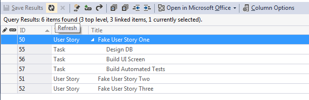 Adding Tasks to a User Story in Bulk with Excel 7