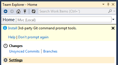 Configuring VS 2012 To Work With GitHub 10