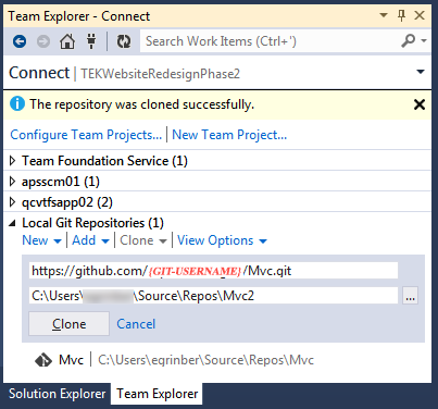 Configuring VS 2012 To Work With GitHub 9